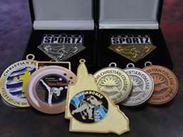 Medals, Ribbons & Sashes